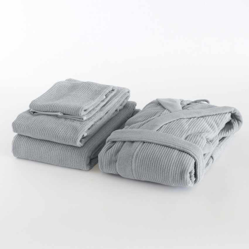Svad Dondi SKIPPER 3 towels set + unisex bathrobe - interno
