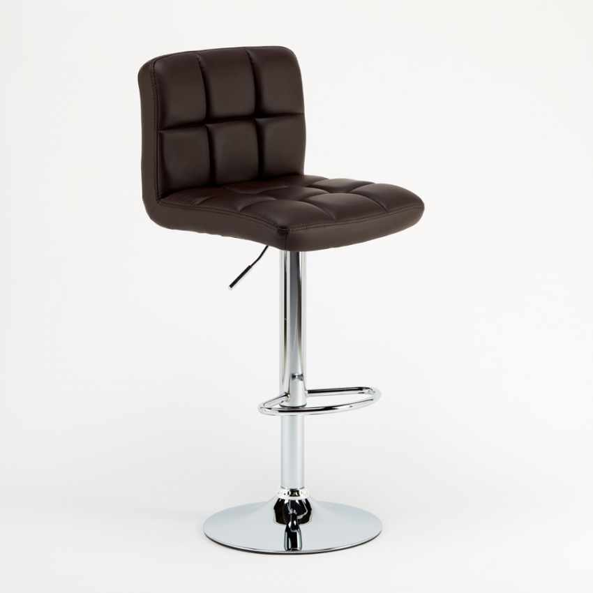 Kitchen and Bar Stool Adjustable Swivel with Backrest and  : revolving bar stool atlanta from www.produceshop.it size 850 x 850 jpeg 14kB