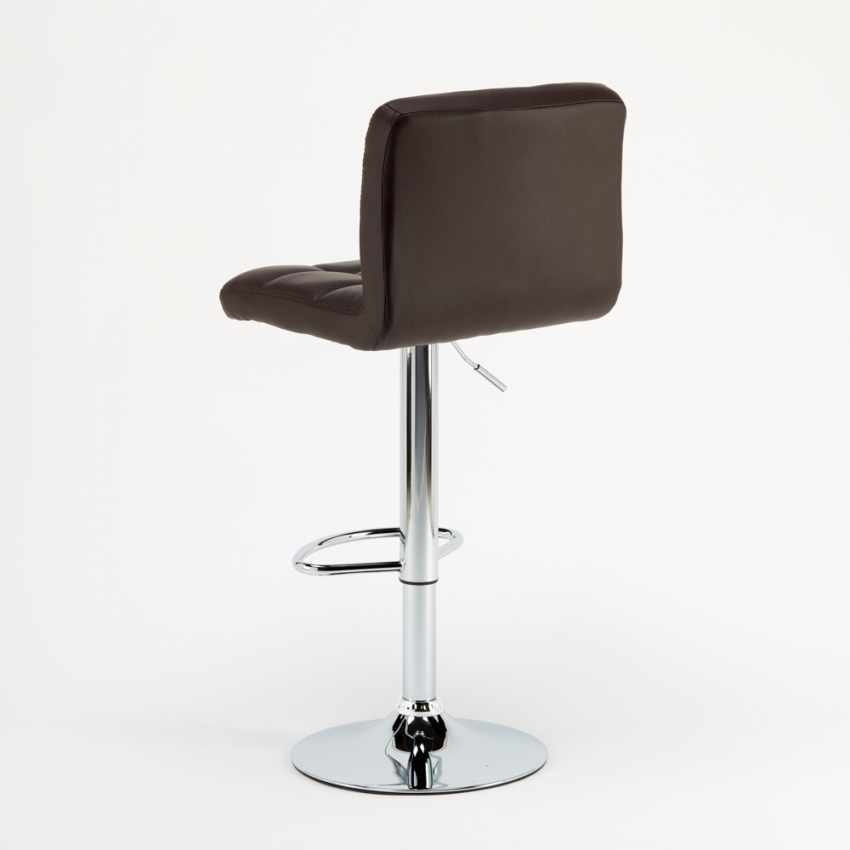 Kitchen and Bar Stool Adjustable Swivel with Backrest and  : revolving bar stool atlanta from www.produceshop.it size 850 x 850 jpeg 13kB