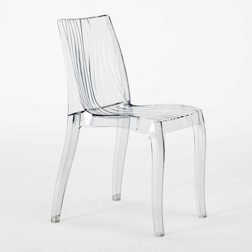Delightful S6327TRYL   Transparent Polycarbonate Design Chair Made In Italy For Home  Interiors DUNE   Dettaglio ...