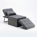Pouf folding bed armchair in fabric SWEET RELAX - foto