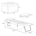 Pouf folding bed armchair in fabric SWEET RELAX - arredamento