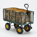 Garden trolley for transporting wood grass 400kg SHIRE - Möbel