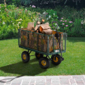 Garden trolley for transporting wood grass 400kg SHIRE - promo