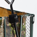Garden trolley for transporting wood grass 400kg SHIRE - Interieur