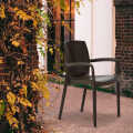 Set of 18 BOHÈME ARM Garden Dining Chair With Armrests Rattan - promo
