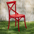 Polypropylene Design Chair Vintage Style for Home Interiors Restaurants CROSS - Bilder