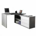 Computer Office Corner Desk Writing Study Table File Cabinet SCHEMA - Bilder