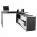 Computer Office Corner Desk Writing Study Table File Cabinet SCHEMA - Rabatt