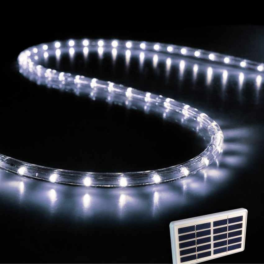 tu050 solar christmas lights tube 50 led arancione