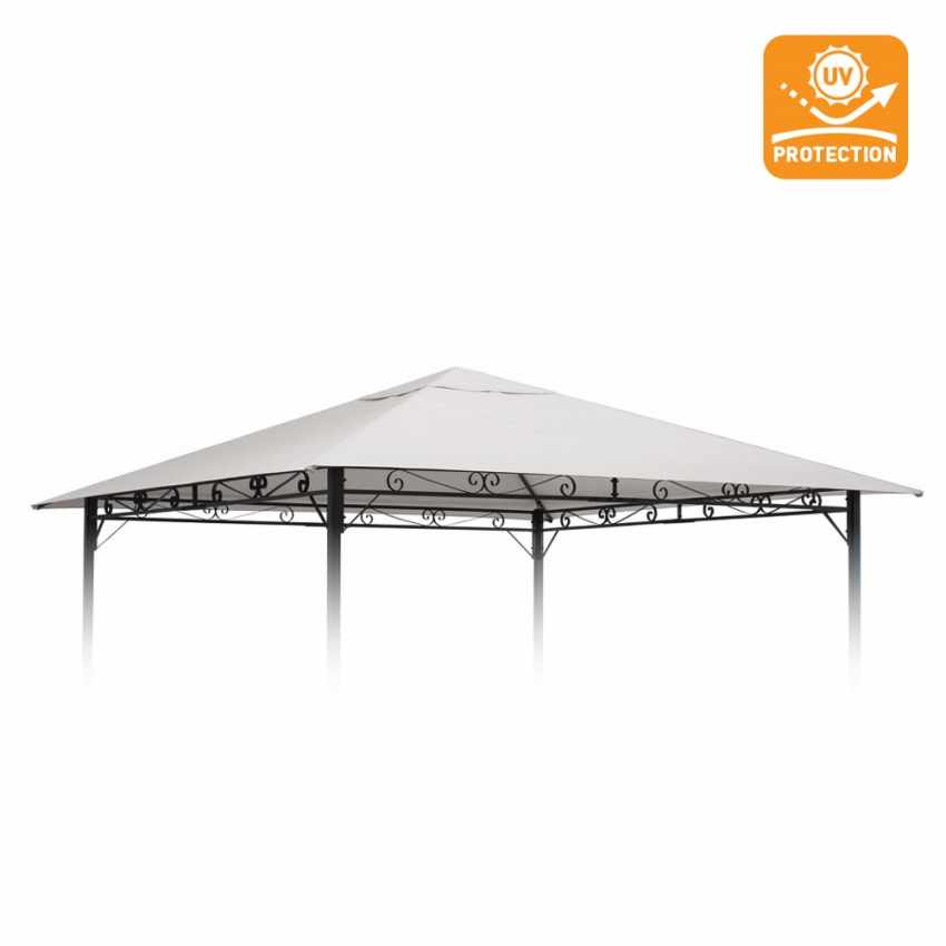 Replacement cover for STYLE garden gazebos with UV protection 3x3m - dettaglio