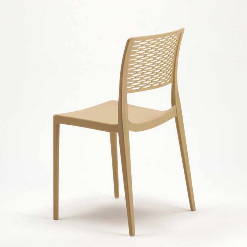Stacking Chair for Kitchens and Gardens Weatherproof Anti UV CROSS - promo