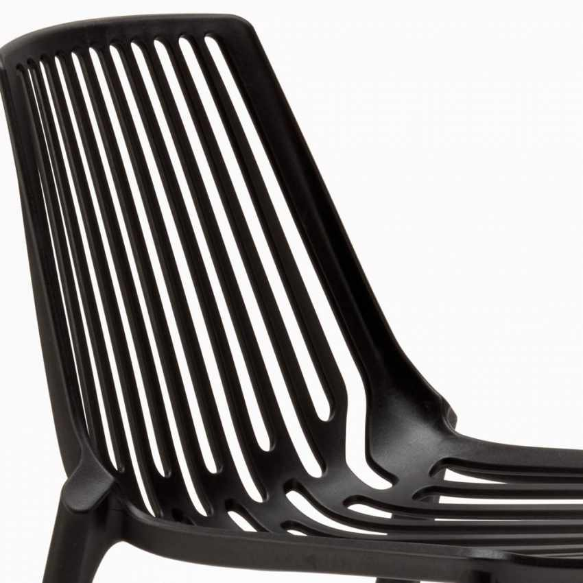 Stacking Chair for Home Interiors and Restaurants Indoors and Outdoors LINE - mejor
