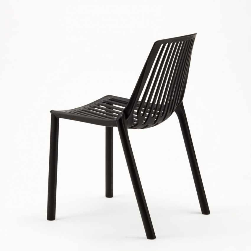 Stacking Chair for Home Interiors and Restaurants Indoors and Outdoors LINE - nuovo