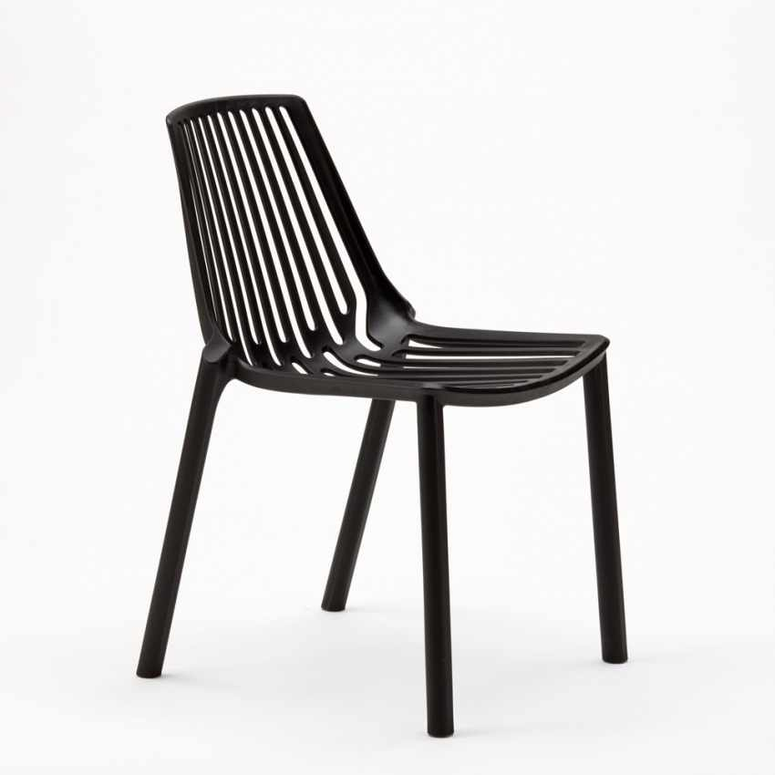 Stacking Chair for Home Interiors and Restaurants Indoors and Outdoors LINE - migliore