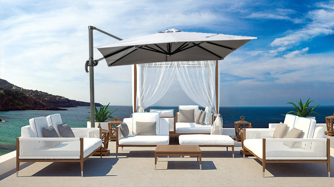 2019 best garden parasols: how to choose best for your garden, patio or business.
